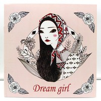 1 PCS New 24 Pages 25*25cm Coloring Books For Kids And Adults Painting Book Dream Girl Coloring Books For Adults