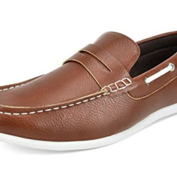 BRUNO MARC Men's Casual Slip On Penny Loafers