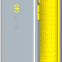 Speck Products CandyShell Case for iPhone 5c  - Nickel Grey/Caution Yellow