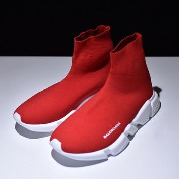 Free Shipping Balenciaga Knit Speed Sock Trainer Sneaker Runner