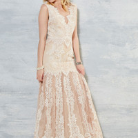 Some Gals Have All the Luxe Dress in Ivory | Mod Retro Vintage Dresses | ModCloth.com
