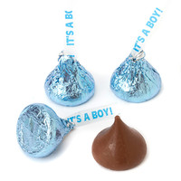 It's a Boy Blue Hershey's Kisses: 7-Ounce Bag