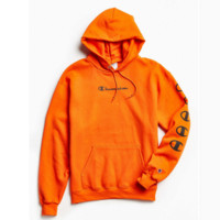 Champion Hooded pullover Sweatshirt Coat Tops H-ALG-CPFS