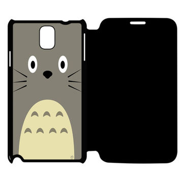totoro Samsung Galaxy Note 4 Flip Case Cover
