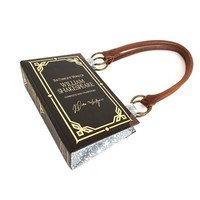 Shakespeare Bookpurse Clutch or Handbag - Upcycled Decadence Book purse -