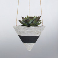Air Planter, Hanging Planter, Succulent Planter, Concrete Planter, Modern Planter, Geometric Planter, Mini Planter, Indoor Planter, Black