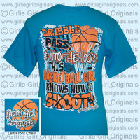Basketball #2 (Short Sleeve) : Girlie Girl™ Originals - Great T-Shirts for Girlie Girls!