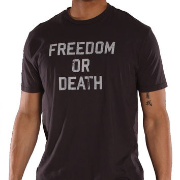 Worn Free Lester Bangs Freedom or Death Tee