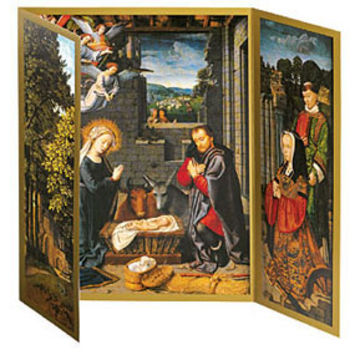 Gerard David: The Nativity Triptych Holiday Cards
