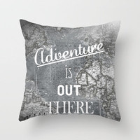 Adventure Throw Pillow by Zach Terrell | Society6