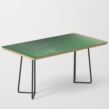 Field of Green Coffee Table by duckyb