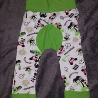 Size 2 Lime Green Mickey Mouse Shipwrecked Grow with Me Maxaloones. Approved Seller