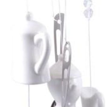 Premium Teacup Wind Chime(Pack Of 10)