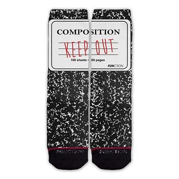 Function - Composition Notebook Fashion Socks