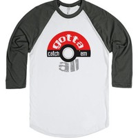 Pokemon Gotta Catch 'em All-Unisex White/Asphalt T-Shirt
