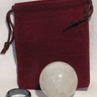 Psychic Ability Divination Set with Pouch : Pagan Store, Wiccan Store, Witchcraft Store, An online Pagan, Wiccan and Witchcraft store