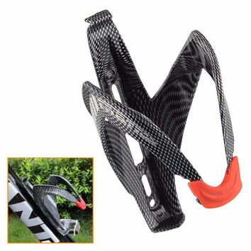 cycle zone Water Bottle Holder Carbon Fiber Road Bicycle Bike Cycling Glass Drink Water Bottle Holder Rack Cage