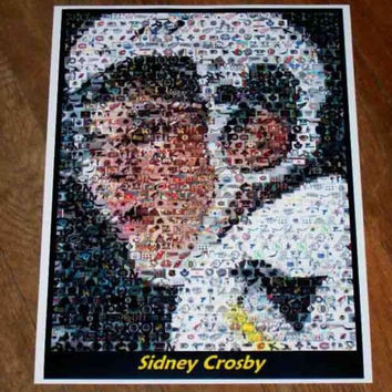 Amazing Pittsburgh Penguins Sidney Crosby Montage. 1 of only 25 ever!