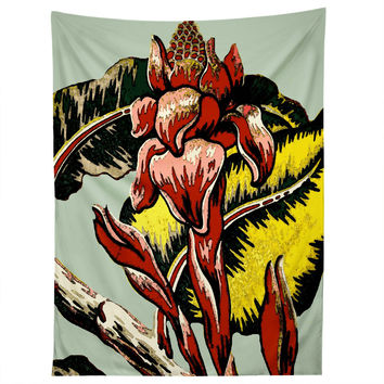 Deb Haugen Red Flame Tapestry