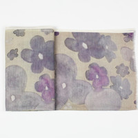 Pansy Scarf in Storm - Storm / One