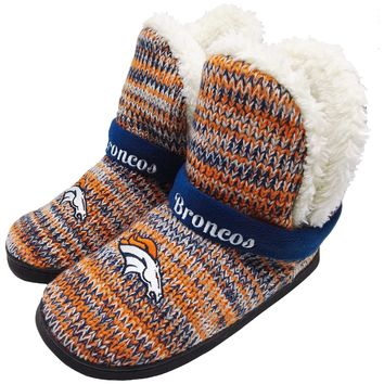 Denver Broncos Official NFL Wordmark Peak Boot - Womens