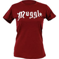 Harry Potter Muggle Women's Fitted T-Shirt: WBshop.com