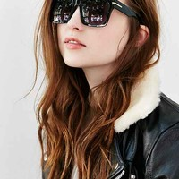 Chunky Oversized Flat Top Sunglasses