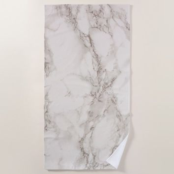 Marble Stone Beach Towel