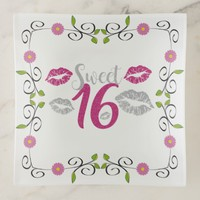 Sweet 16 Trinket Tray