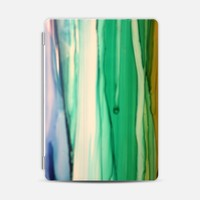 Casetify iPad Air 2 Photo Cover - Green and white by littlesilversparks #iPad Air 2