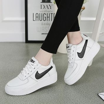 On Sale Hot Deal Comfort Stylish Casual Hot Sale Korean Shoes Jogging Thick Crust Sneakers [12406472723]