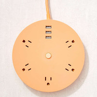 UO_TUNE_IN Circular Power Strip | Urban Outfitters