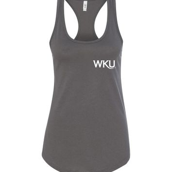 Official NCAA Western Kentucky University Big Red Hilltoppers WKU Est 1906 Racerback Tank - 35WKU-4
