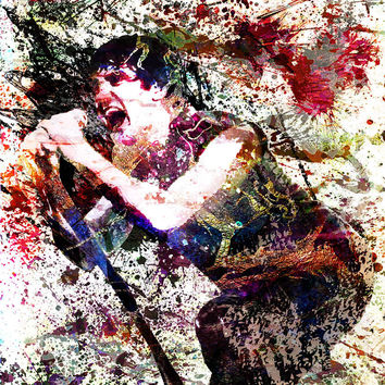 Trent Reznor Art - Nine Inch Nails
