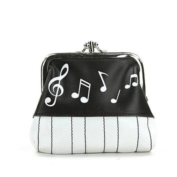 It's in The Bag Musical Notes Coin Purse