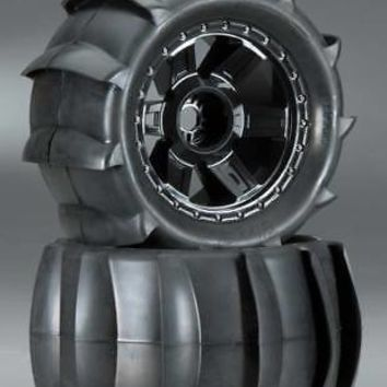 NEW Pro-Line Sling Shot 3.8  Sand Tire Mounted 17mm F/R 1179-11Officially Licensed  AT_69_5