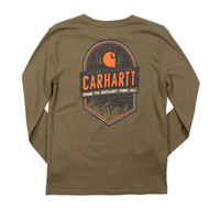 Carhartt Boys' Outlast Them All Long Sleeve Tee