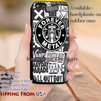 Forever Metal Band Logo iPhone 6s 6 6s+ 5c 5s Cases Samsung Galaxy s5 s6 Edge+ NOTE 5 4 3 #music #fob dl14