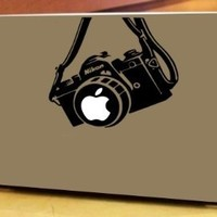 When Pigs Fly Nikon Vinyl Decal Sticker for Apple Macbook Pro (13-Inch)