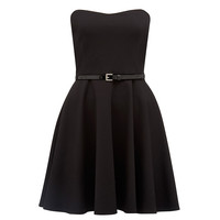 Cara strapless skater dress - Forever New