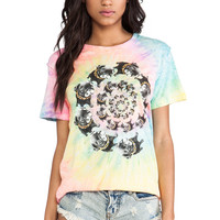 UNIF Nightmare Swirl Tee in Multi from REVOLVEclothing.com