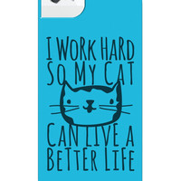CAT LIFE IPHONE CASE