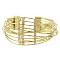 Diamond Wire Wrap Cuff Bracelet | Marissa Collections