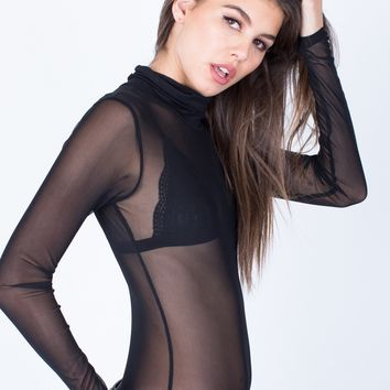 Meshed Out Bodysuit