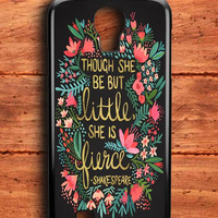 The Little Fierce On Charcoal Samsung Galaxy S4 Case