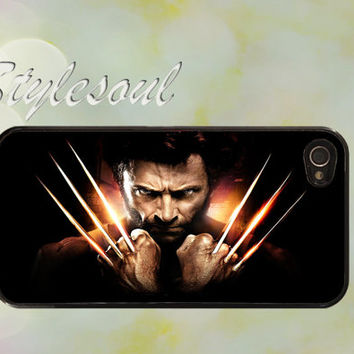 The Wolverine HUNG JACKMAN  iPhone 4 Case, iPhone 4s Case, iPhone 5 case