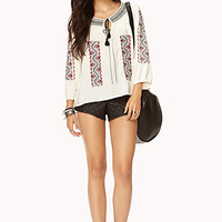Traveler Tribal-Inspired Top