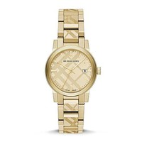 Burberry The City Gold-Tone Ladies Watch BU9145