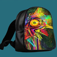 Legend of Zelda Majora s Mask for Backpack / Custom Bag / School Bag / Children Bag / Custom School Bag *