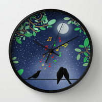 Moonlight Serenade Wall Clock by Tjc555